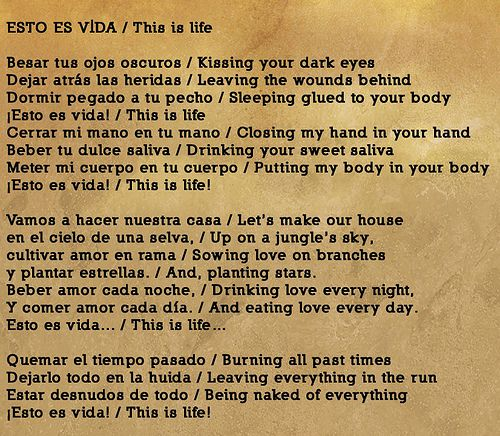 Robi Draco Rosa Esto Es Vida This Is Life Beautiful Words Draco Rosa Inspirational Quotes