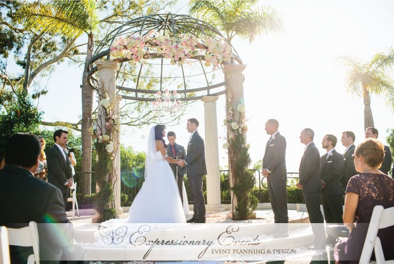 Newport Beach Marriott Wedding Nick Trang Hotel Weddings Pinterest And