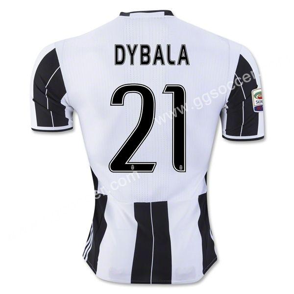 2016 17 Juventus Dybala Home White Black Thailand Soccer Jersey Juventus Thailand Quality Football Club Topjersey Soccer Jersey Soccer Shirts Juventus