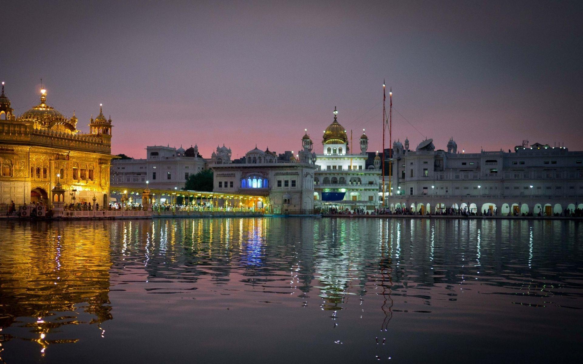 Hd wallpaper india - Amritsar India Punjab City View Hd Wallpaper Free