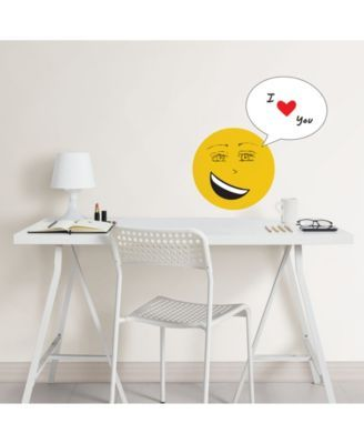 Your Own Create Emote Wall Decal Dry Erase Wall Wall Decals