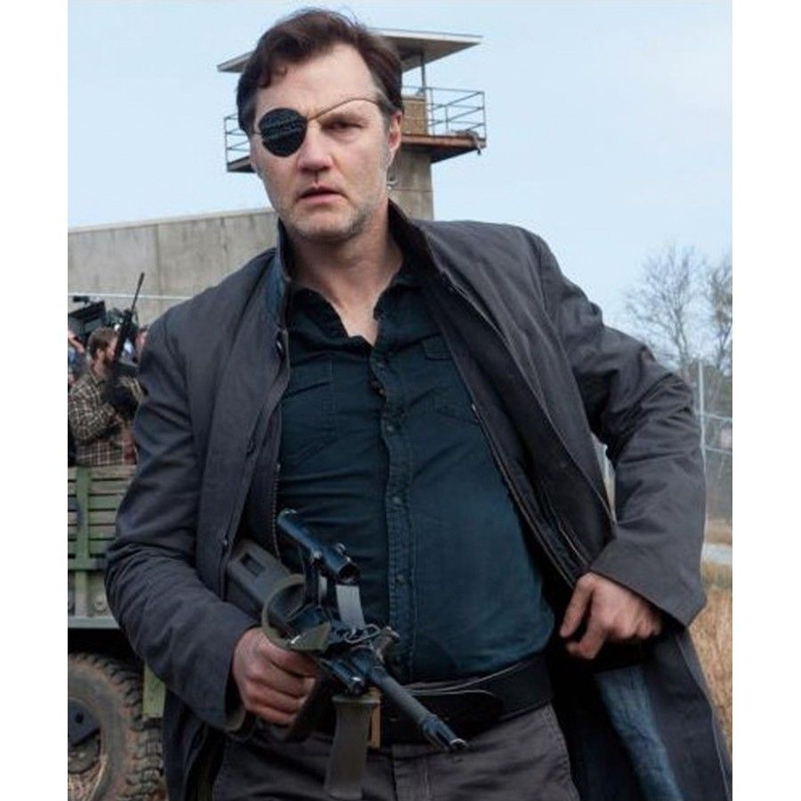 ce22266cb David Morrissey The Walking Dead The Governor Trench Coat | Fashion ...