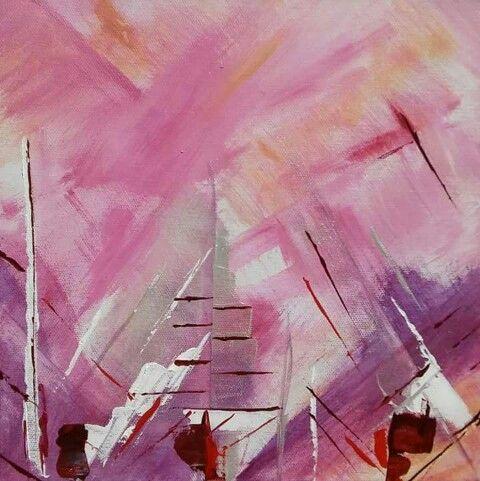 Popping Pink III | Laura H Elliott / DegreeArt.com The Original Online Art Gallery