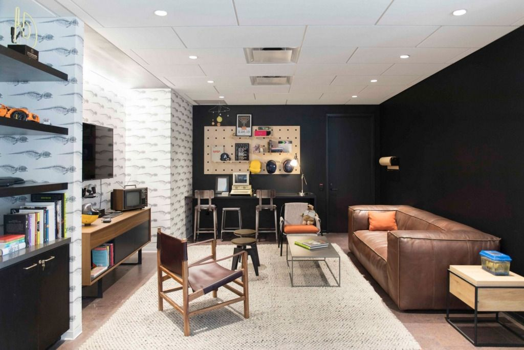 Vox Media New York Modular lounges, Home, Office design