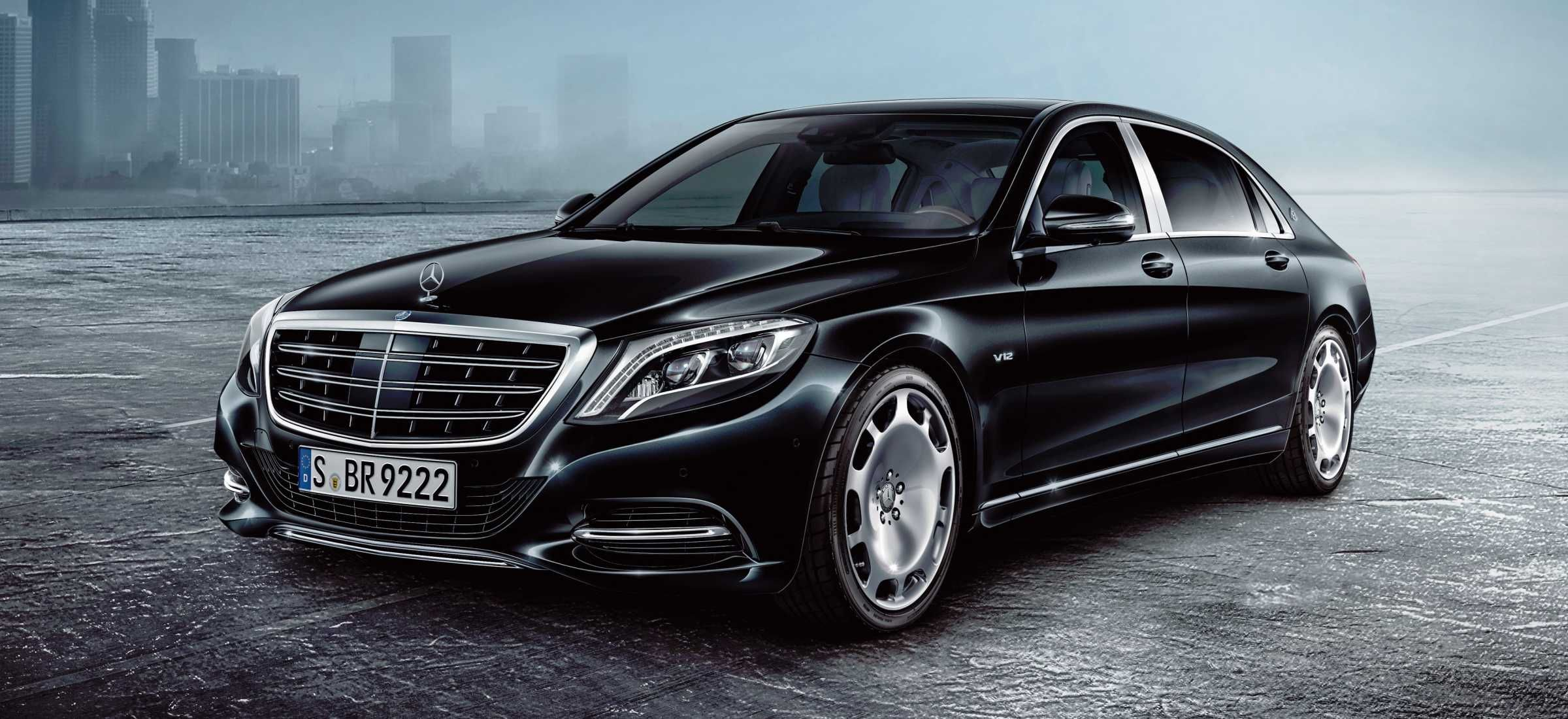 Mercedes Brings Presidential Level Security To Their Mercedes
