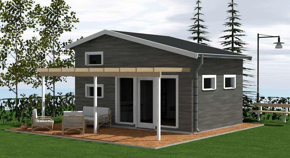 hus utan bygglov
