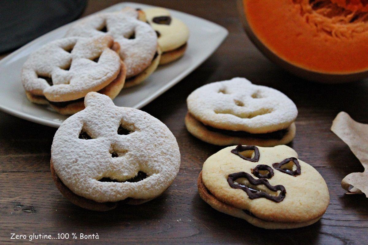 Biscotti di pasta frolla per Halloween Biscotti senza