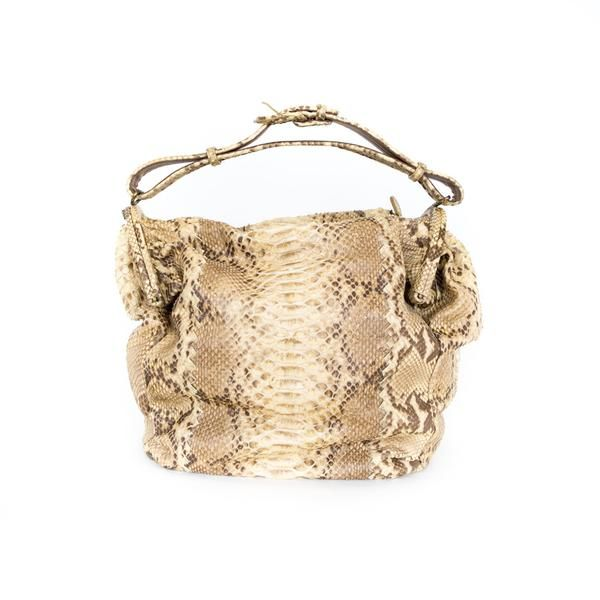 9fa2f68ea9 Bottega Veneta Duette python handbag