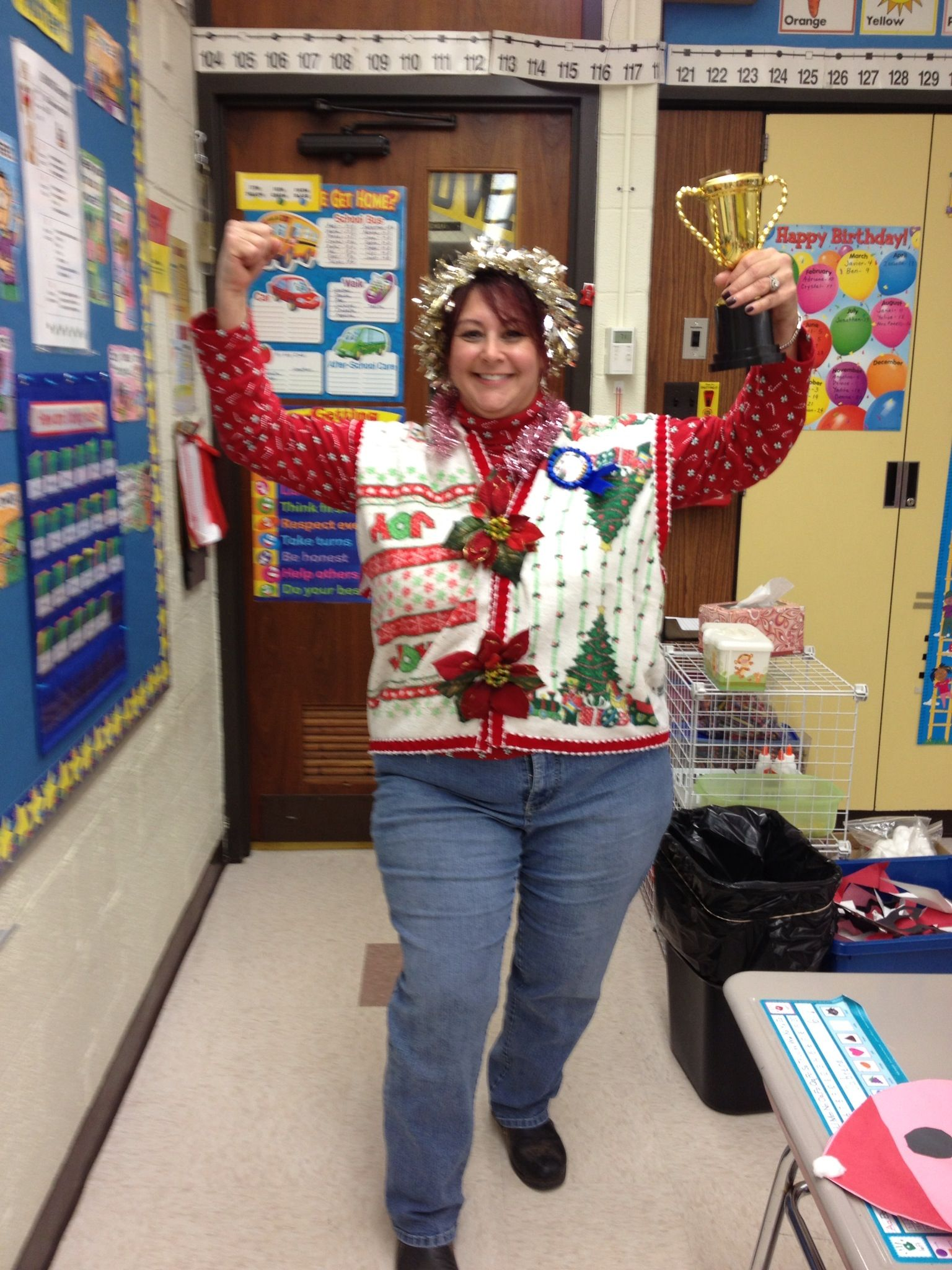 Pin on Christmas |Ugliest Sweater Contest Ideas