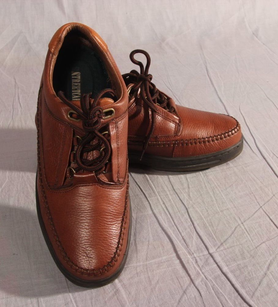 Men's Street Cars Boat Shoes Brown Size