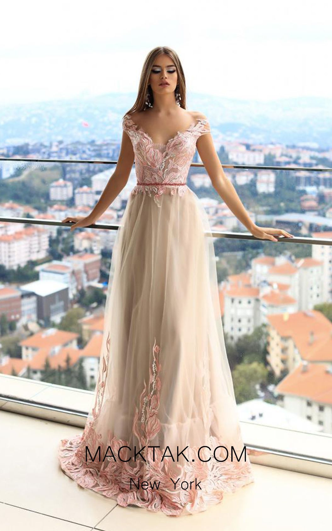 Energetic Stunning Sequined A-line Evening Dress With Long Sleeves 2019 Sweep Train Red Carpet Prom Gowns Party For Women Robe De Soiree Fragrant Aroma Weddings & Events
