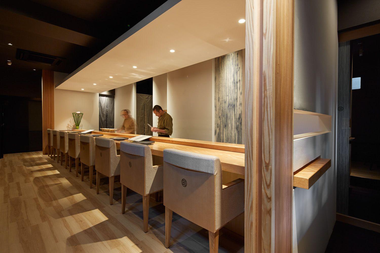 旬膳わだ japanese modern ideas interior sushi restaurant