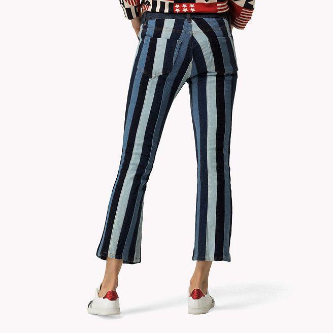 55d9ee652ca7 Tommy Hilfiger Flared Striped Jeans - washed denim multi (Blue) - Tommy  Hilfiger Bootcut Jeans   Flares - detail image 6