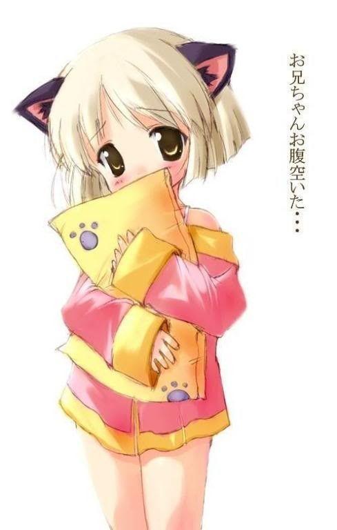 Manga fille chat manga pinterest manga - Personnage manga fille ...