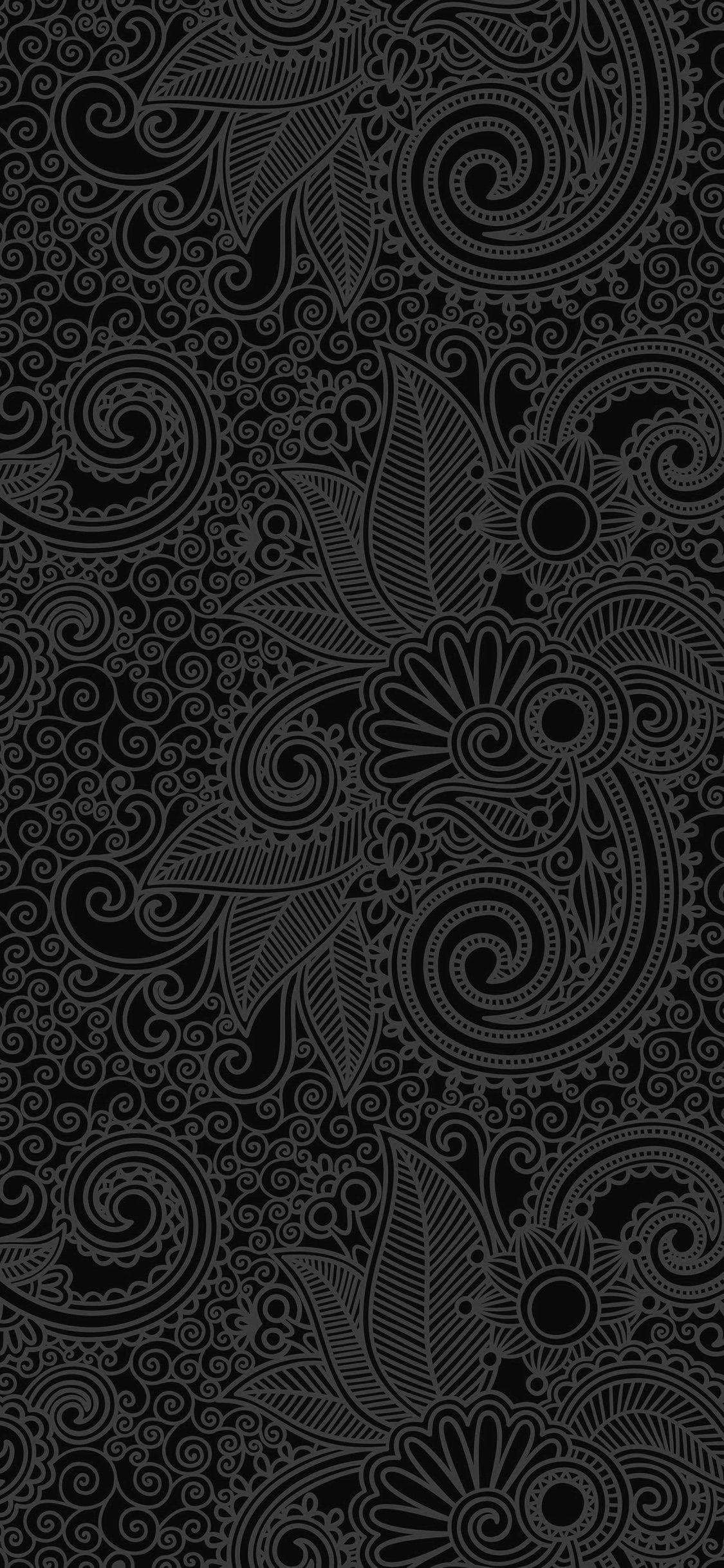 Face Pattern Background Bw Dark Iphone X Wallpaper Black Wallpaper Iphone Black Wallpaper For Mobile Jellyfish Wallpaper
