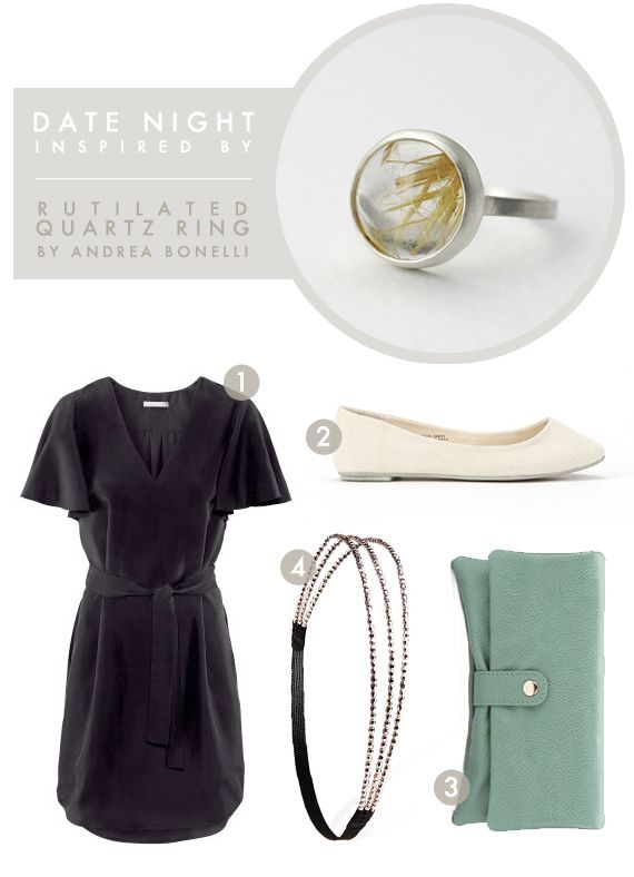 Date Night Outfit inspired by Andrea Bonelli