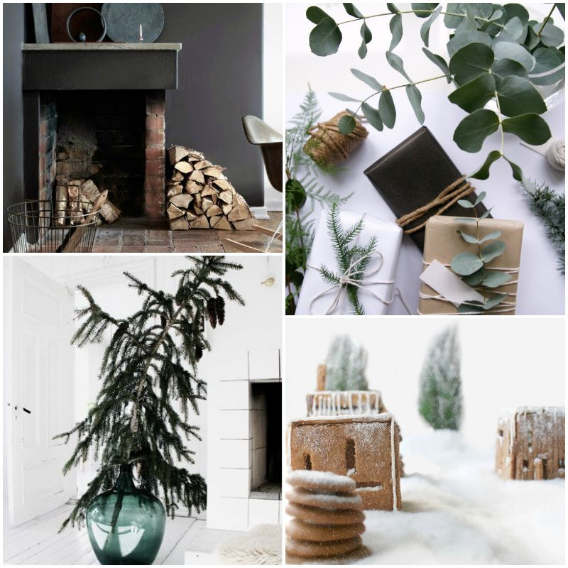 smells_of_christmas_pine_tree_fireplace_gingerbread_house @hegeinfrance #moodboardchallenge