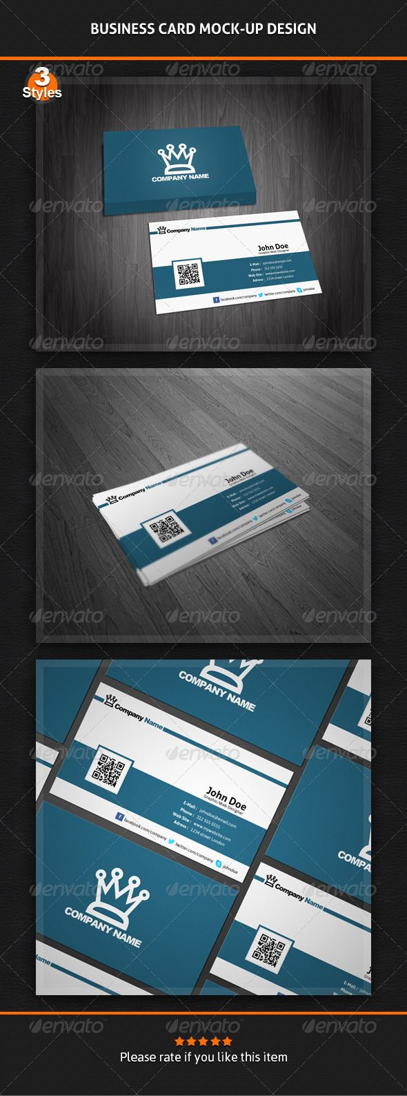 Business card mock up pack 3 styles mockup business cards and business card mock up pack 3 styles magicingreecefo Gallery