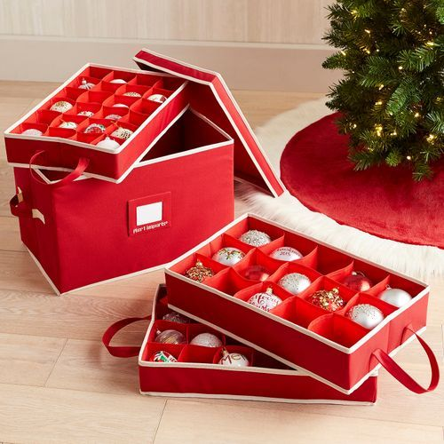 Ornament Storage Box W I S H L I S T S Pinterest Ornament