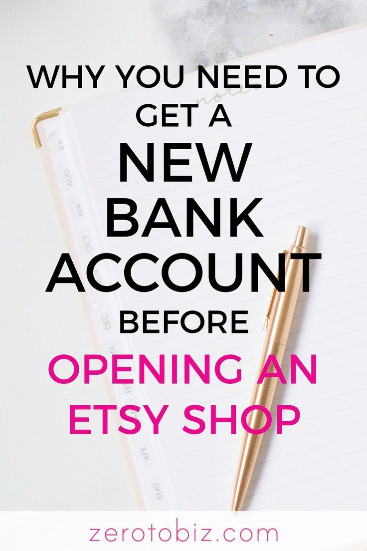 Why Your Etsy Shop Needs a Separate Bank Account
