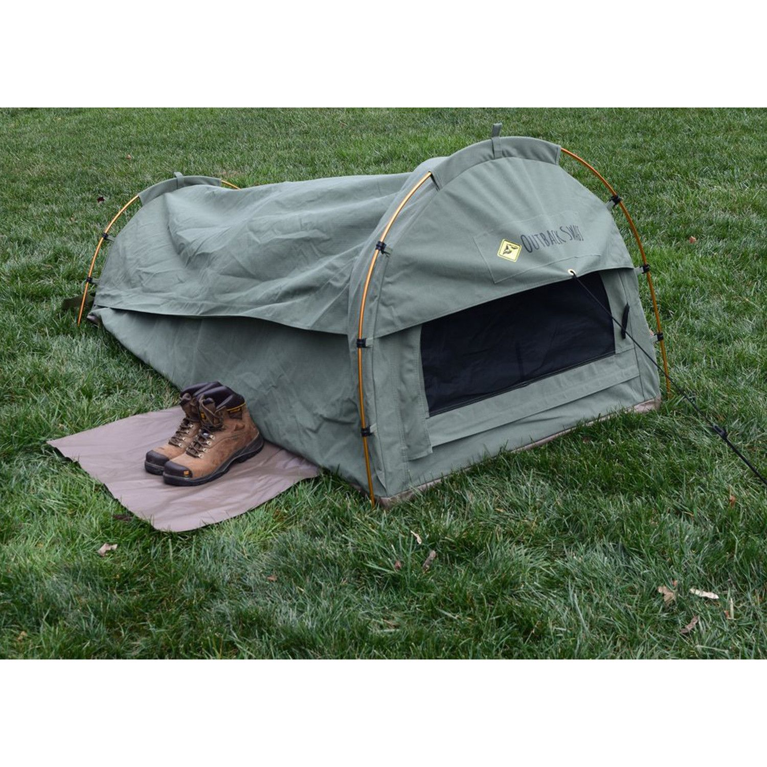 A modern version of the bedrolls Australiau0027s nomadic swagmen used back in the day these tents are designed for quick set up out in the field.  sc 1 st  Pinterest & Pioneer Swag Tent | spring | Pinterest | Swag Tents and Australia