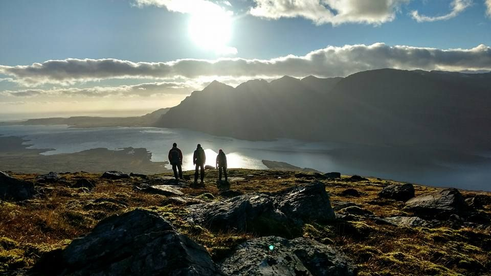 Hiking in East Iceland #hiking #camping #outdoors #nature #travel #backpacking #adventure #marmot #outdoor #mountains #photography