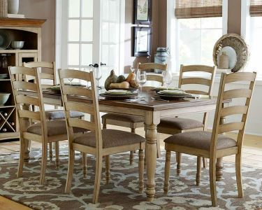 Amazing Gorgeous Country Style Dining Set