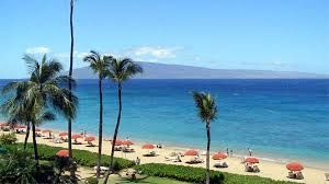 Kaanapali Beach Hi Located On The West Side Of Maui 3 Miles