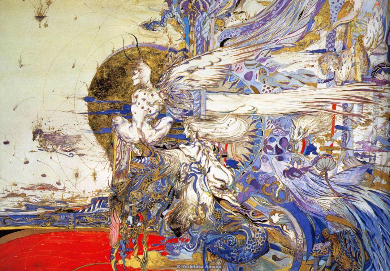 「一旦生活安逸,人的創造力便會枯竭。」 Yoshitaka Amano