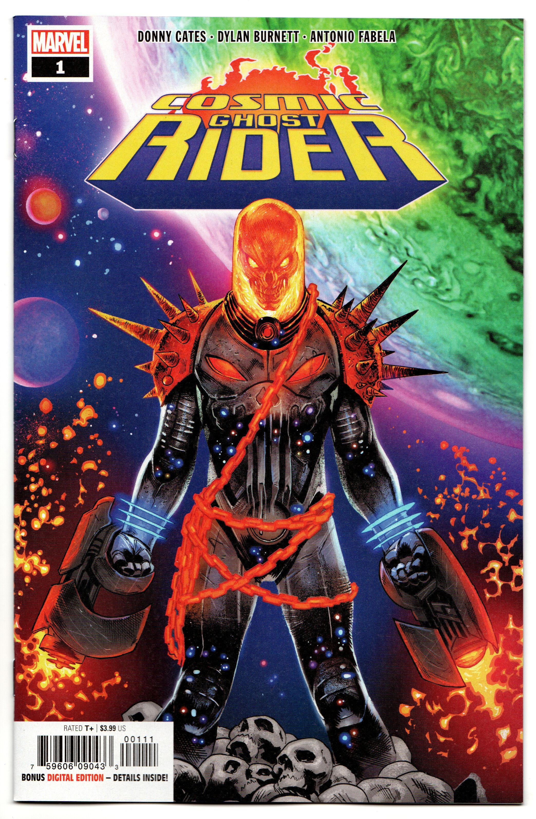 Cosmic Ghost Rider # 1 NM Marvel Thanos Donny Cates