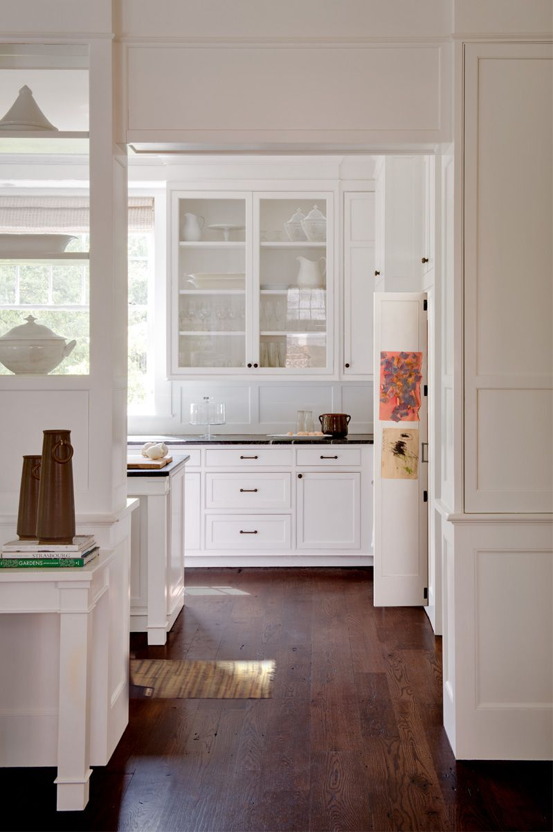 Lovely, classic white kitchen from Donald Lococo Architects ...