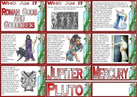 Homework help roman gods