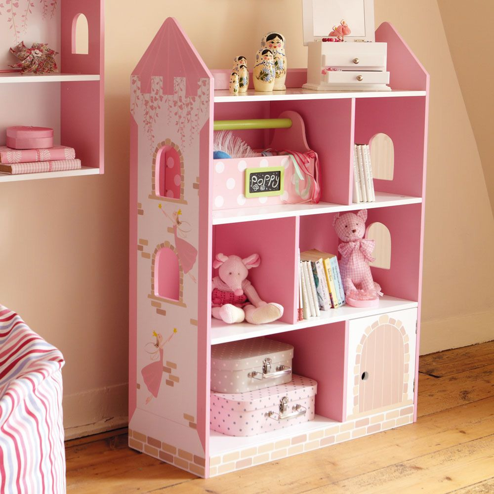 Fairy Castle Bookcase Toy Storage
