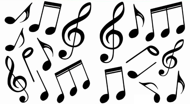 Printable Music Notes Symbols Music note symbol, Music