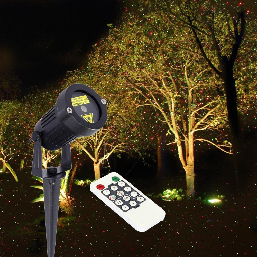 Christmas Outdoor Laser Projector Light Star Garden Decoration LED ...
