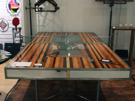 Ping Pong/Table Tennis Conference Table | Ping Pong Table, Office Interiors  And Interiors
