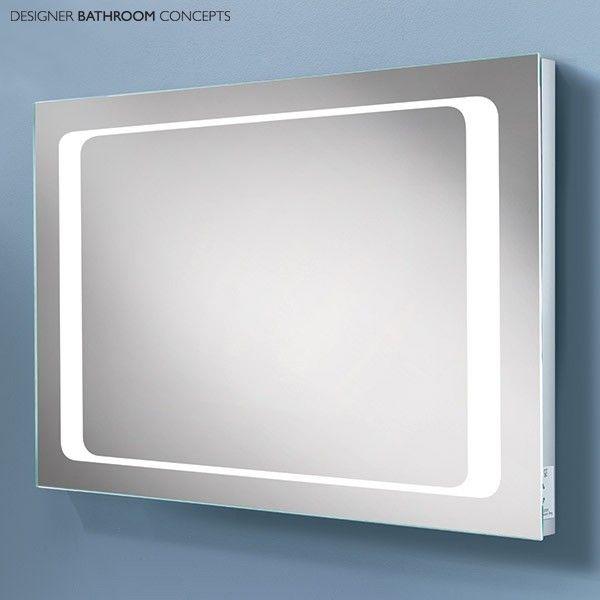 Hemisphere designer led bathroom mirror with demister main image hemisphere designer led bathroom mirror with demister main image aloadofball Image collections