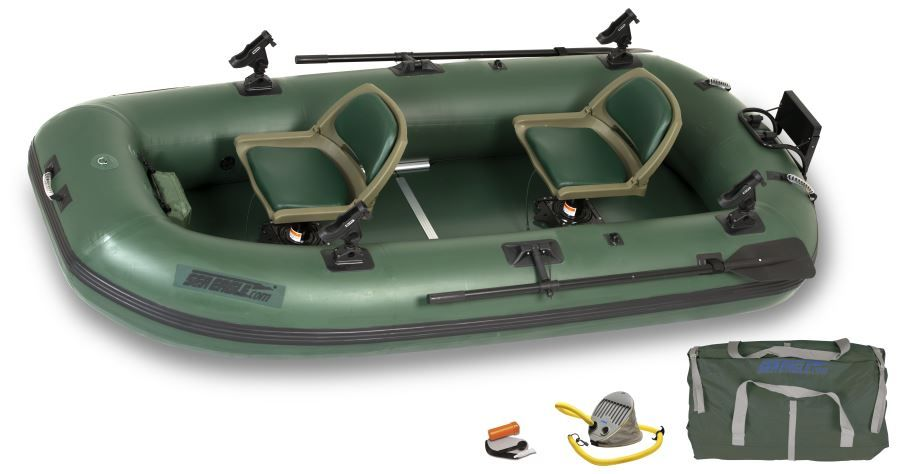 Sea Eagle Sts10 4 Person Inflatable Fishing Boat Package Prices Starting At 1 349 Plus Free Shipping Rubber Boat Pontoon Boat Fishing Boats