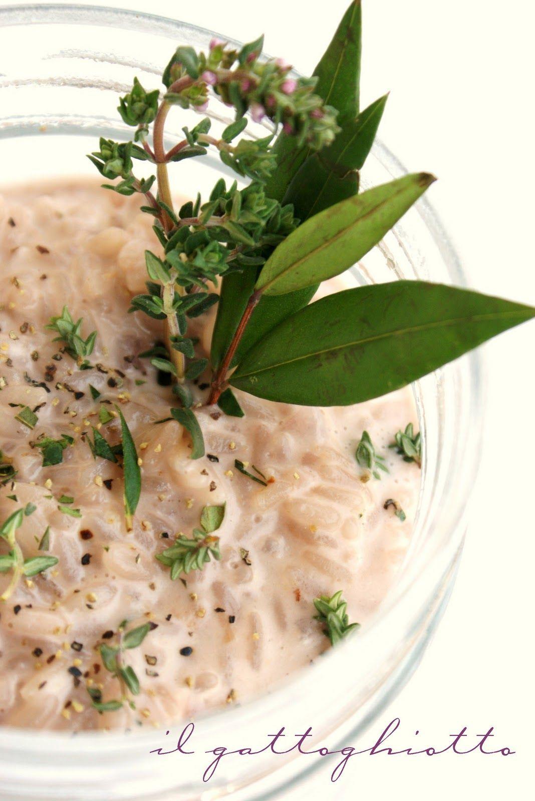 il gattoghiotto: Un risotto che profuma di buono...