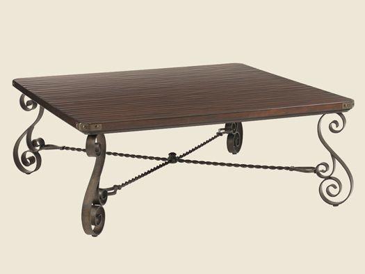 Fieldale Lodge - Blackstone Square Cocktail Table -Lexington Furniture