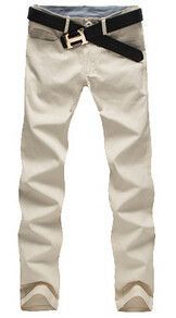 New Men's 100% cotton pants