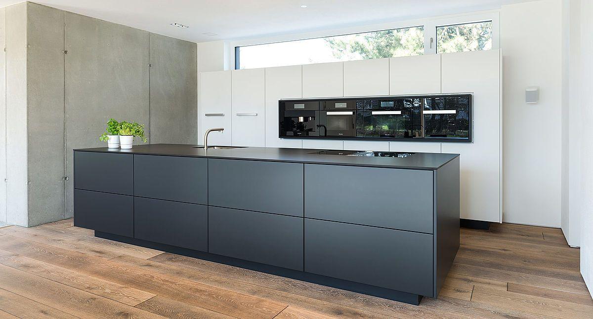 Küche Schwarz Weiß Kitchen Pinterest Searching - küche schwarz weiß