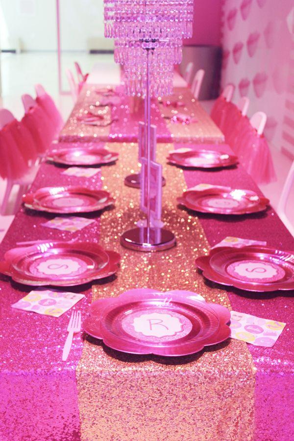 trend alert barbie dreamhouse experience birthday party barbie pinterest barbie party. Black Bedroom Furniture Sets. Home Design Ideas