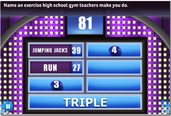 FREEbie Family Feud! For iPad/iPhone App! Grocery Shop