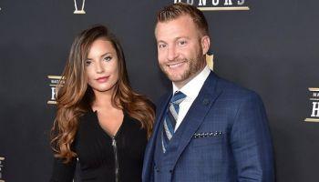 Los Angeles Rams Coach Sean Mcvay Is Engaged To Girlfriend Veronika Khomyn Married Life Sean Mcvay Mason Ramsey