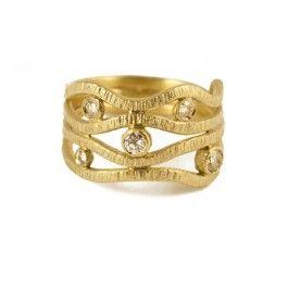 Diamond Wrap Ring - £1,200.00 (Designer: Maria Frantzi)