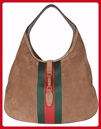 6d02e5503c8 Image result for gucci large hobo green suede red web strap. Find this Pin  and more on Vintage Gucci Bags ...