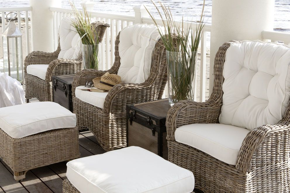 13 Canadian Cottage   Outdoor wicker chairs, Porch ...