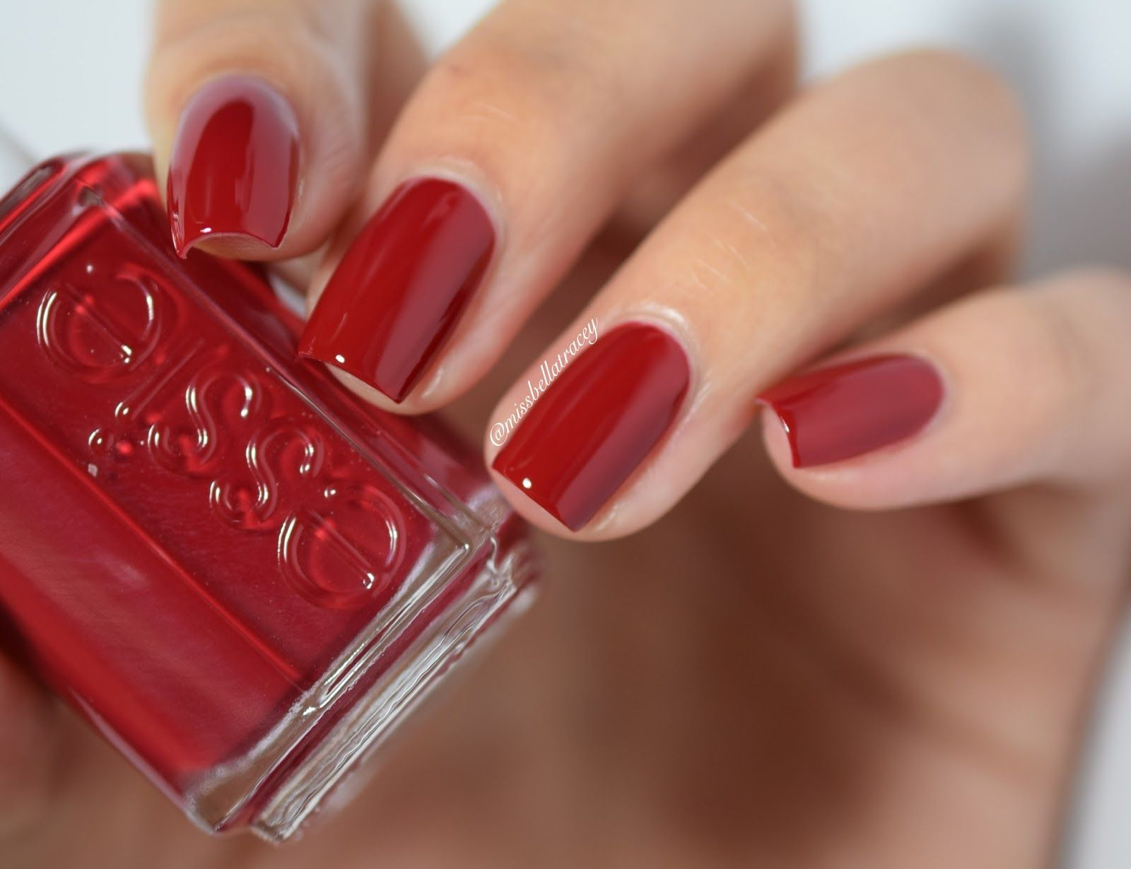 Essie Winter 2015 collection-Shall We Chalet?   Natural Nails ...