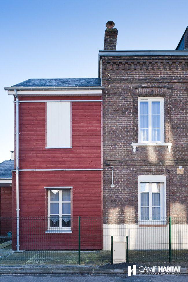 Extension de maison en bois en Haute Normandie   wwwcamif